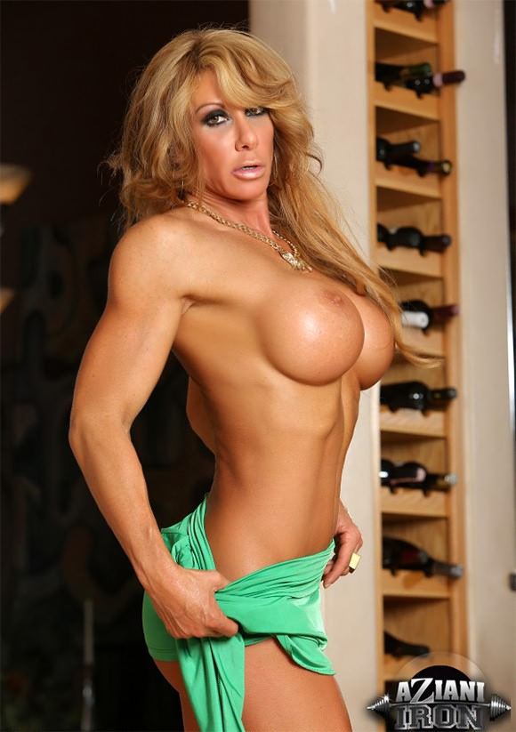 Milf nude workout